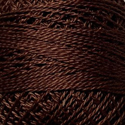 Valdani Size 12: Solid 171 Rich Brown Light