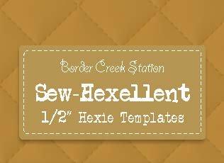 Sew-Hexellent 1/2 Templates