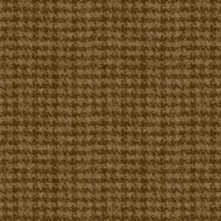 Maywood  Woolies Flannel #F18503-A2 Med. Brown