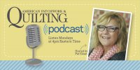 Quilting Podcast with Pat Sloane