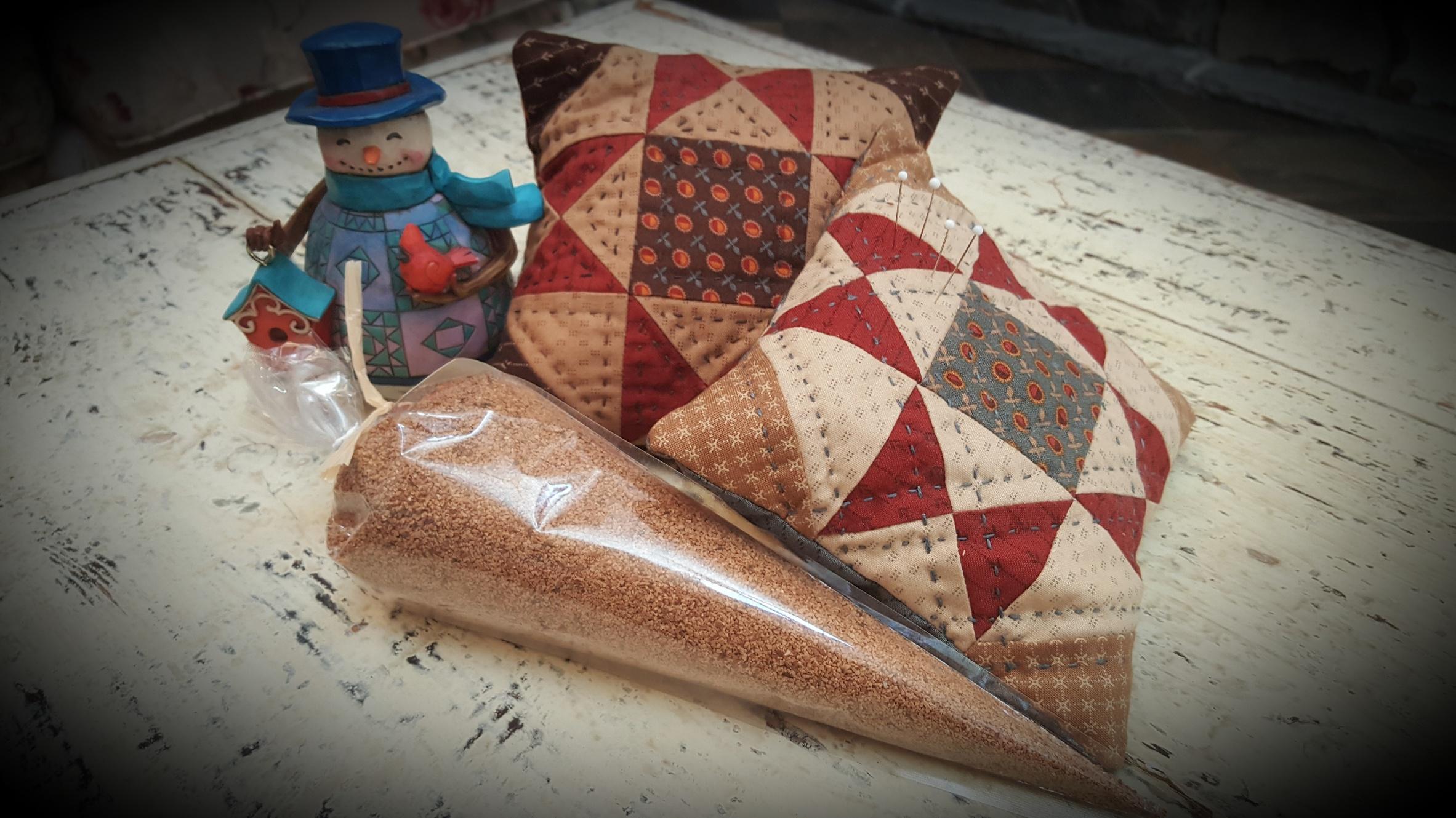Scrappy Star Pincushion Fabric Kit