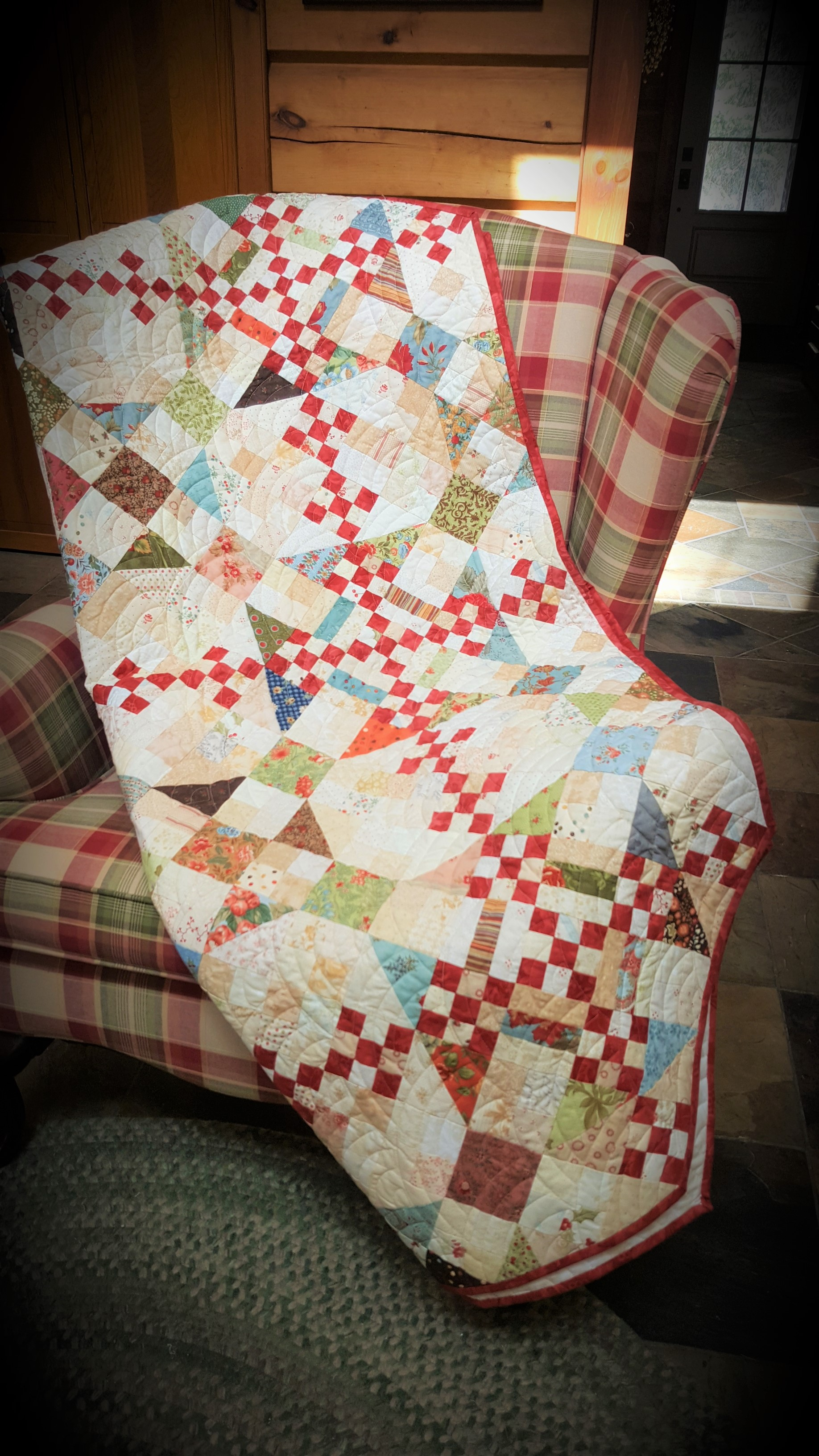 Pioneer Spirit Mystery Quilt Fabric Requirements