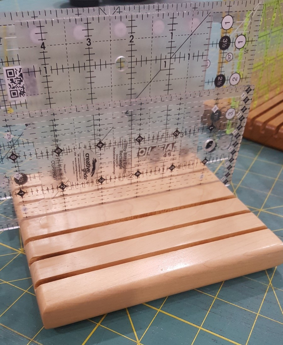 Ron's Pine Ruler Stands