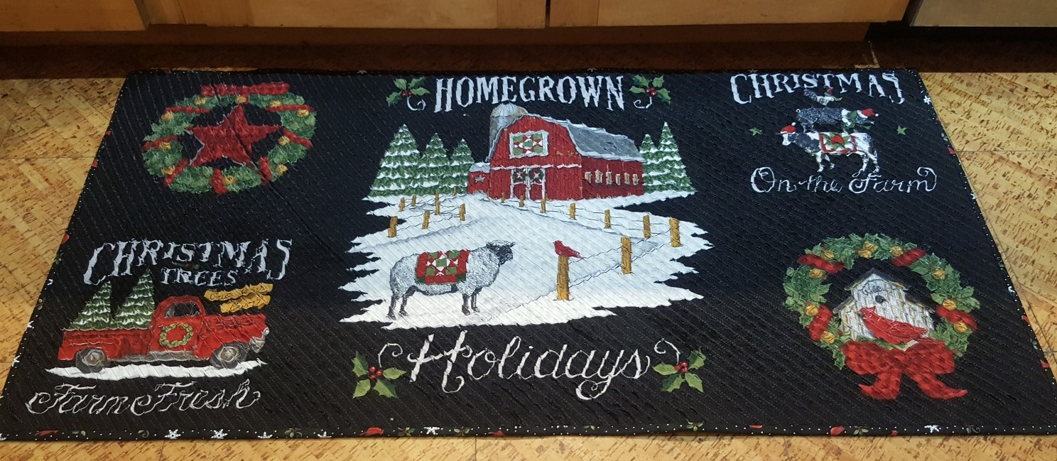 Home Grown Holiday Chenille Rug Kit