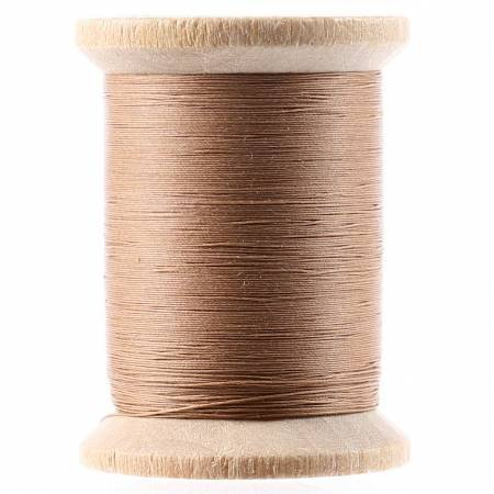 Cotton Hand Quilting Thread by YLI - Light Brown