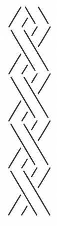 Quilt Stencil - Lattice Border 2