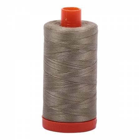 Aurifil 50wt Cotton Thread #2900 Light Khaki