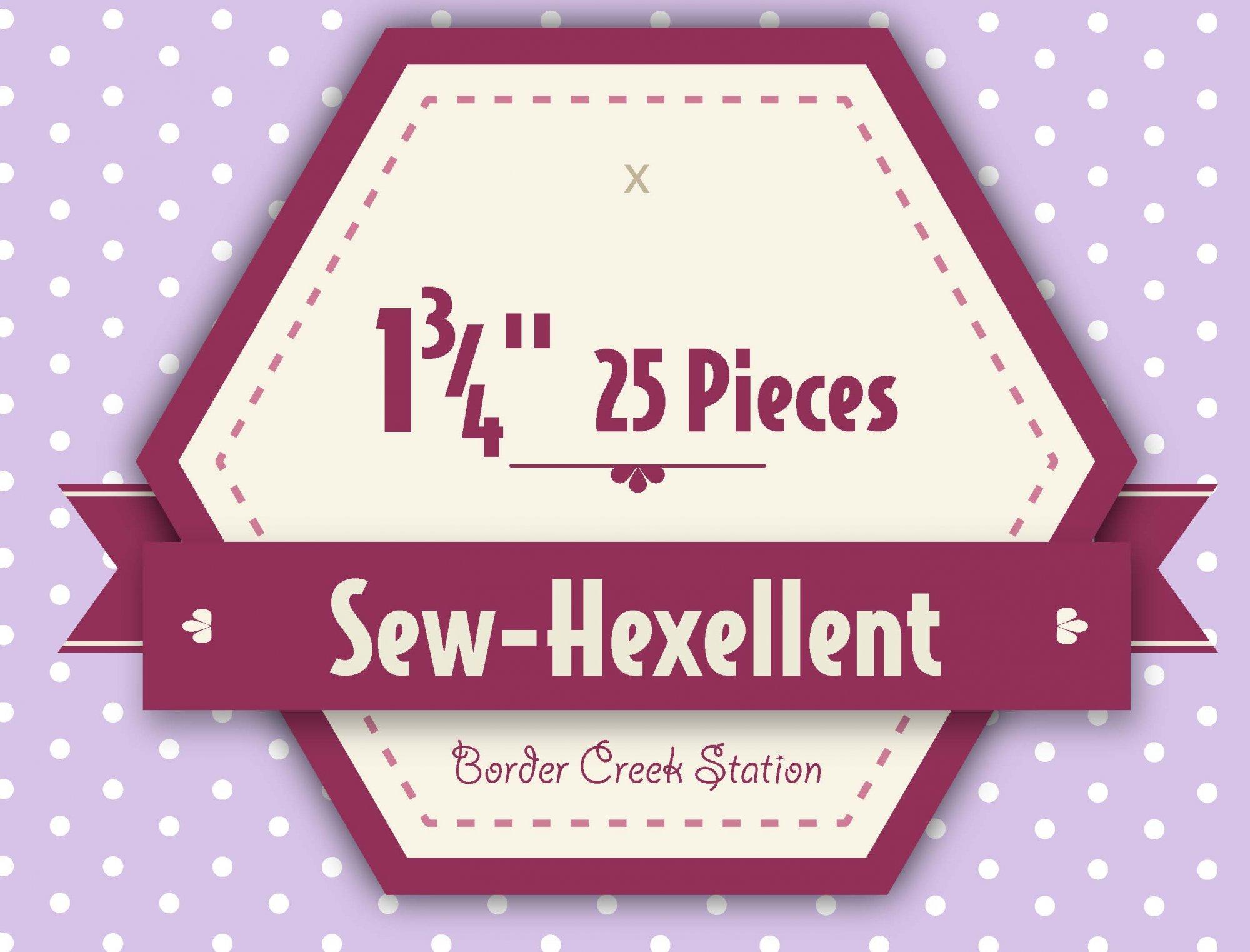 Sew-Hexellent 1-3/4 Templates