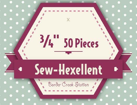 Sew-Hexellent 3/4 Templates