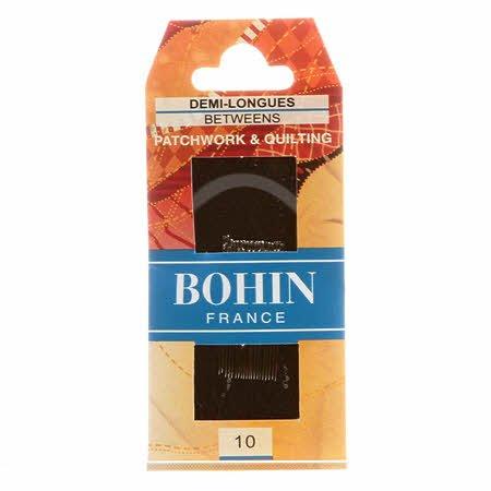 Bohin Between Big Eye Needle Size 10