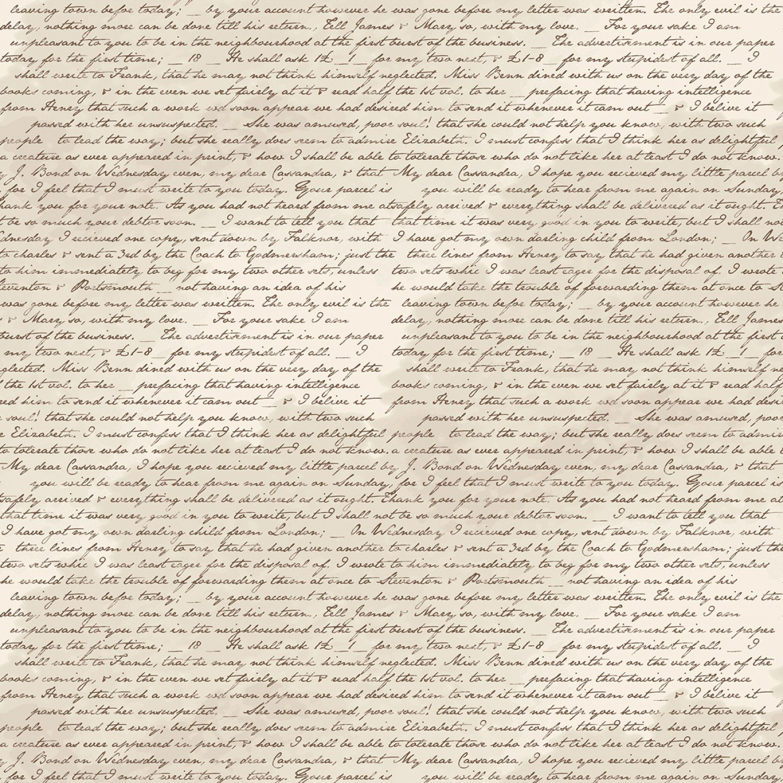 Jane Austen At Home Correspondence #100018R-CORR