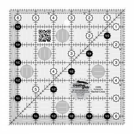 Creative Grid 6.5in. x 6.5in. Ruler