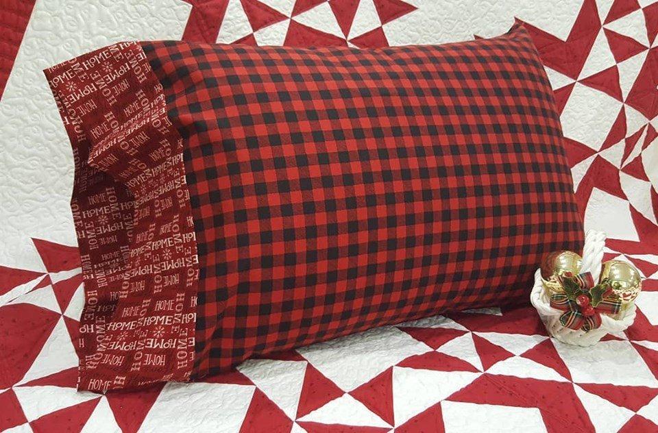 Holiday Time Pillowcase Fabric Kit