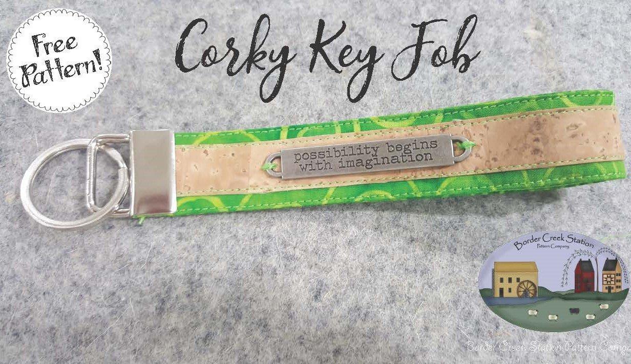 Corky Key Fob - Free Pattern