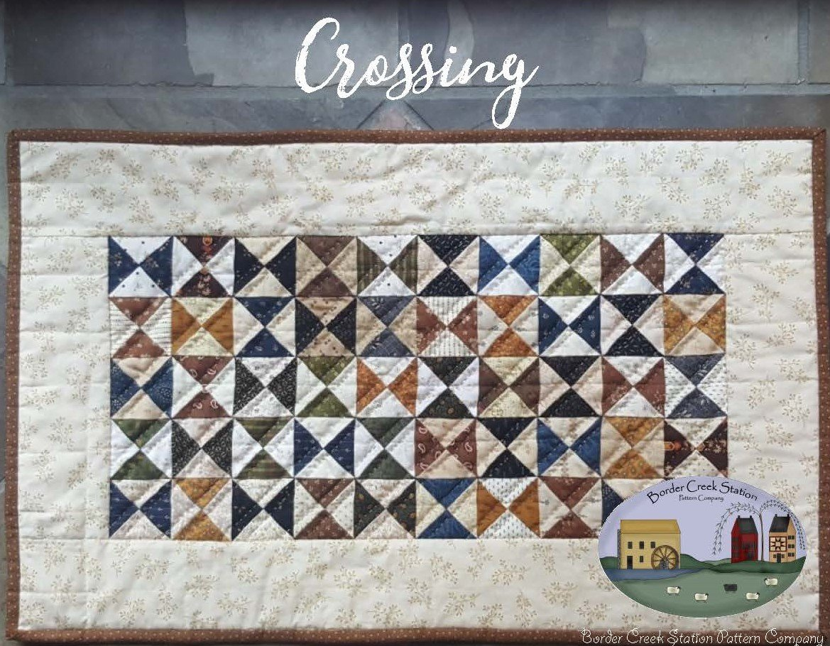 Crossings Tablerunner Precut Fabric Kit