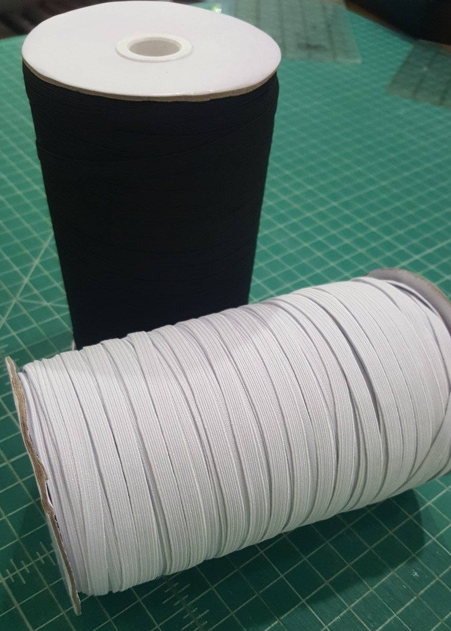 1/4 Elastic by the metre - IN STOCK!