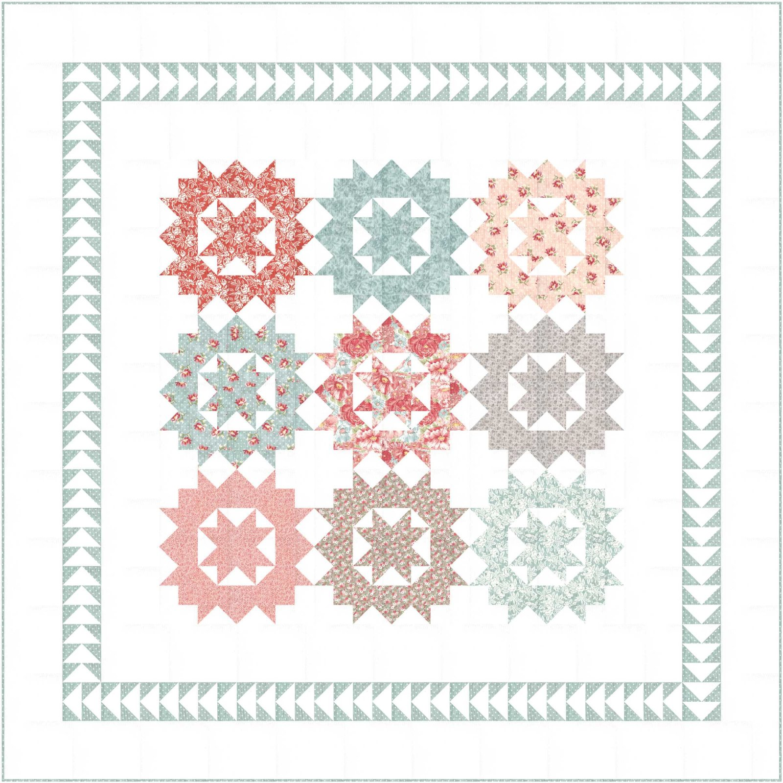 Front Porch Dreamin' Fabric Kit - NEW!
