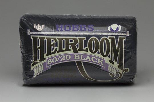 Hobbs Heirloom 80/20 Cotton/Poly Blend Batting - BLACK