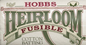 Hobbs Heirloom 80/20 Batting 96 width - Fusible