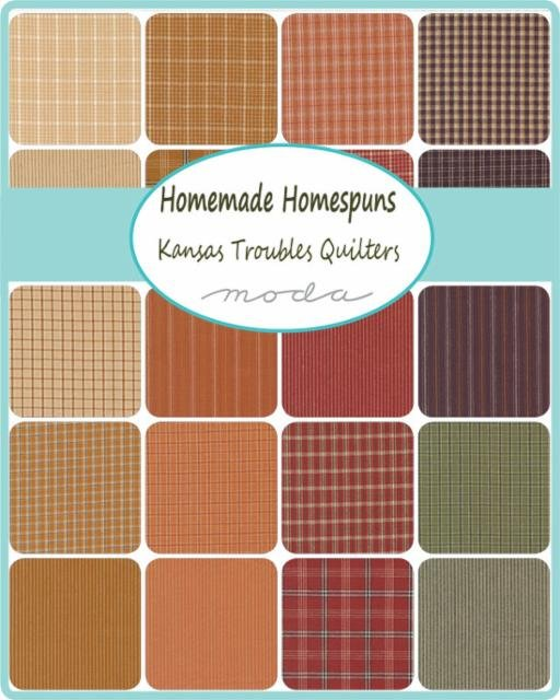 Charmingly Handsome Quick Homespun Quilt Kit - New!