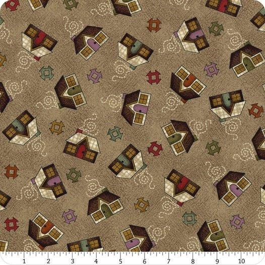 Home  Sweet Home Flannel #MASF9412-K by Bonnie Sullivan