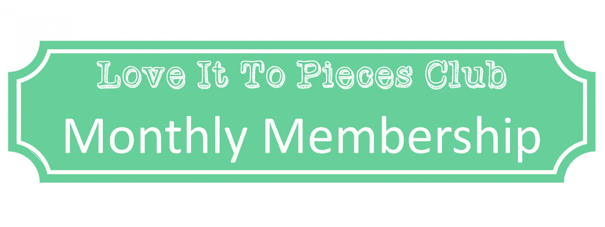The LITP Club Payment Option: Monthly