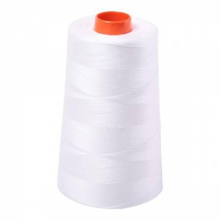 Aurifil 50wt Cotton Large Cone - #2021 Natural White