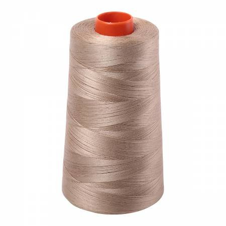 Aurifil 50wt Cotton Large Cone - #2325 Linen