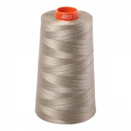 Aurifil 50wt Cotton Large Cone - #2900 Light Khaki