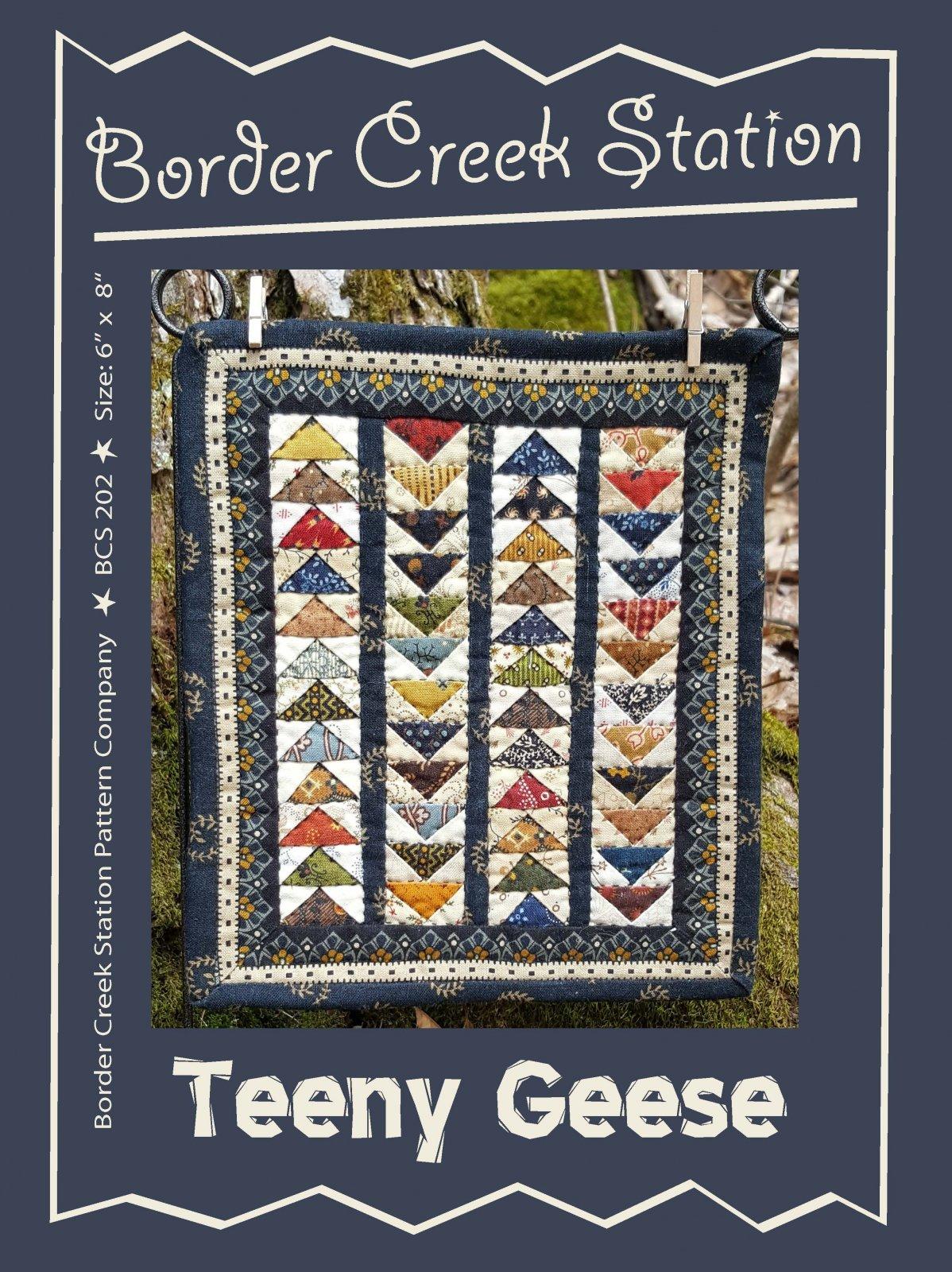 Teeny Geese Pattern