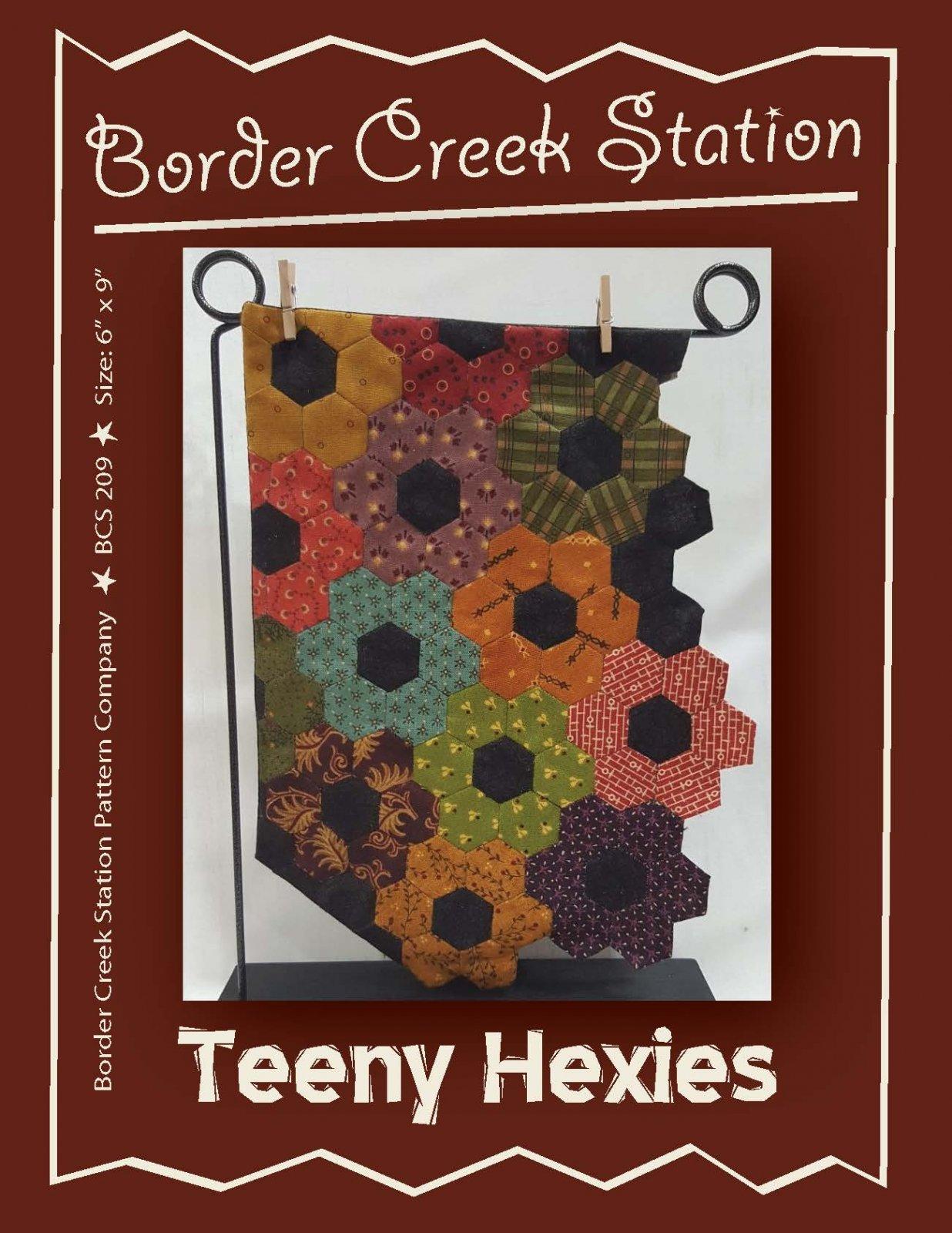 Teeny Hexies  Pattern