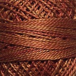 Valdani Size 8: Variegated O506 Cinnamon Swirl