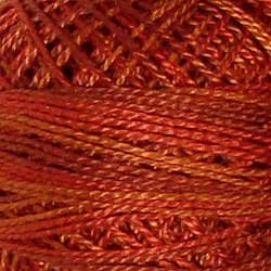Valdani Size 12: Varigated O510 Terracotta Twist