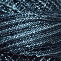 Valdani Size 8: Variegated O578 Primitive Blue