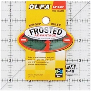 Olfa 4.5in. x 4.5in. Ruler
