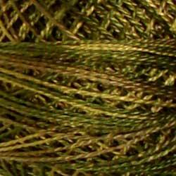 Valdani Size 8: Variegated P2 Olive Green
