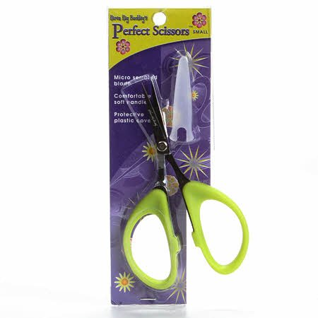 Perfect Scissors Small 4 inch Green by Karen Kay Buckley