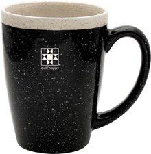 Quilt Happy Ceramic Retreat Mug