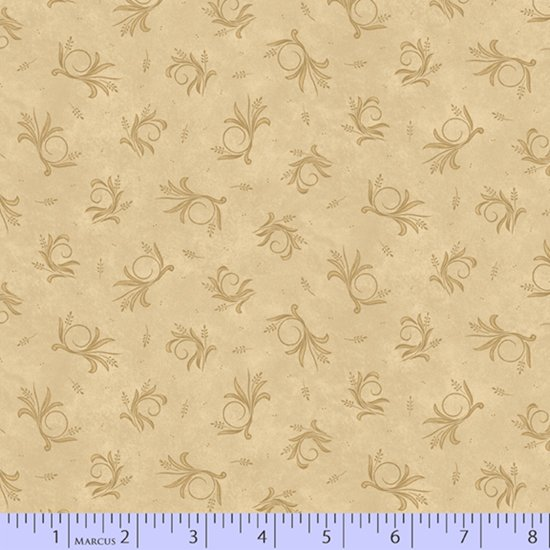 Country Meadow #1712-Beige by Pam Buda
