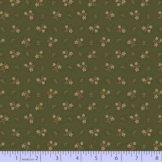 Country Meadow #1714-Olive by Pam Buda