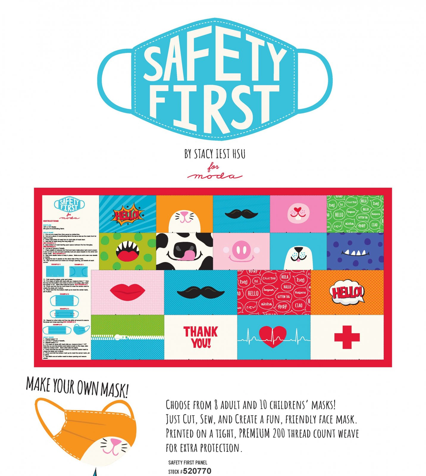 Safety First - Mask Panel from Stacy Iest Hsu