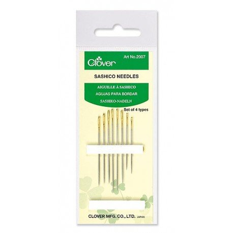 Clover Sashico Needle Assorted Sizes