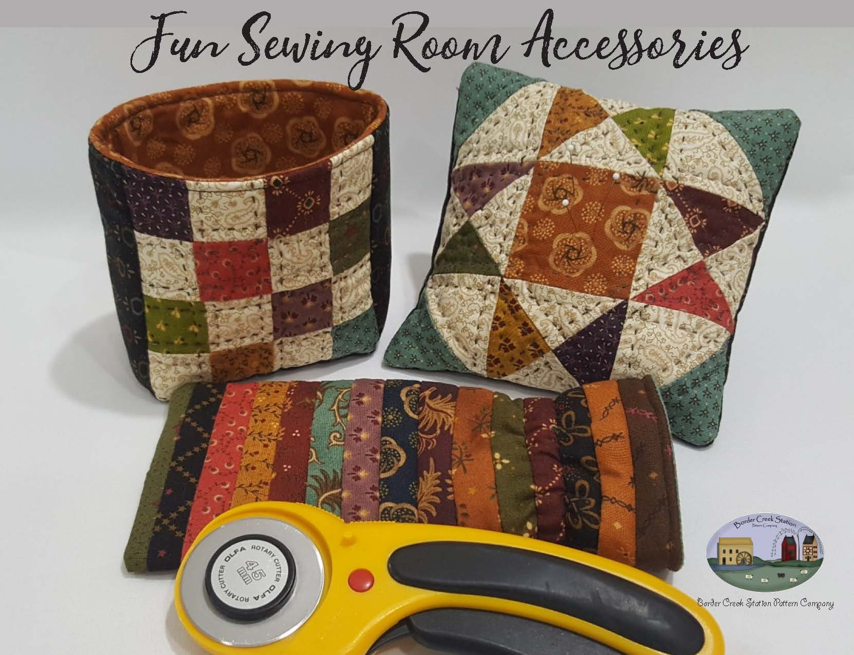 Fun Sewing Room Accessories!