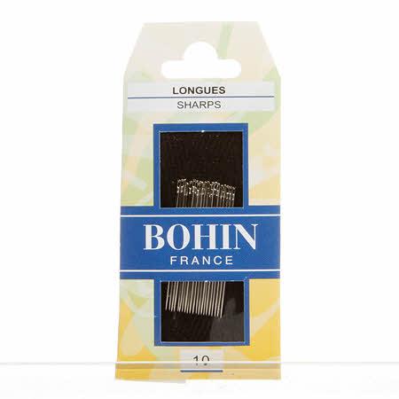 Bohin Applique Sharp Needle Size 10