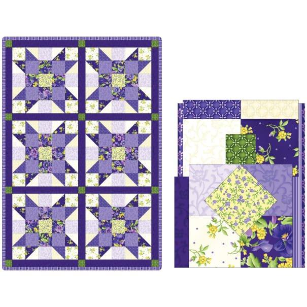 Sister's Choice Quilt Pod ~ Emma's Garden