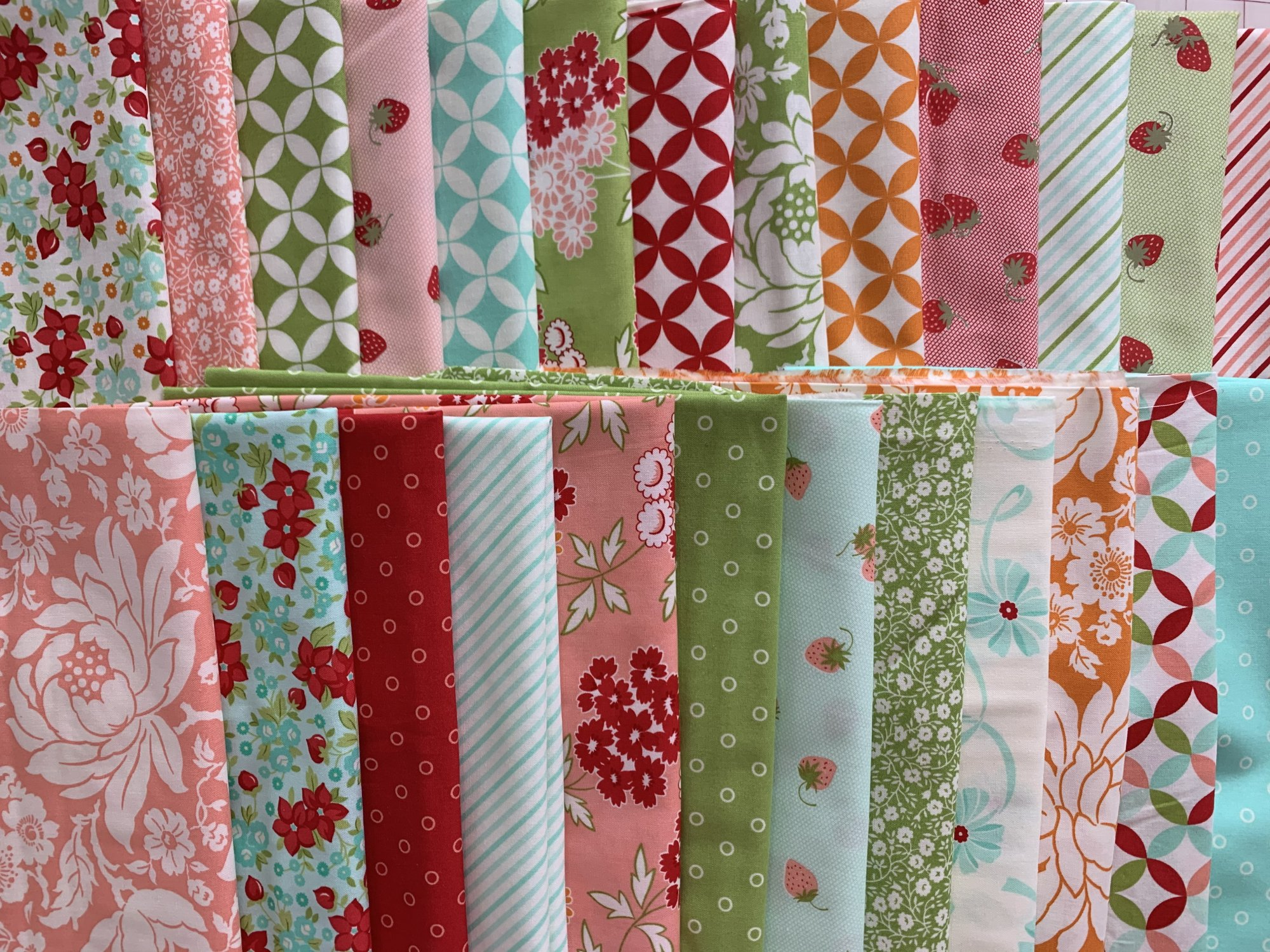 Hello Darlingby Bonnie and Camille Stash Builder 25 half yard cuts