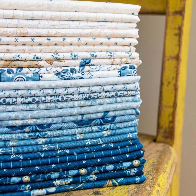 Perfect Union Half Yard Bundle by Edyta Sitar of Laundry Basket Quilts for Andover Fabrics