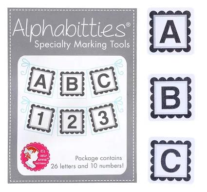Alphabitties Specialty Marking Tools ~ Gray
