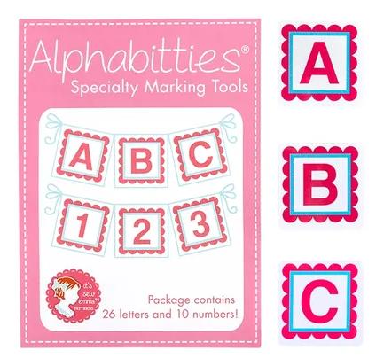Alphabitties Specialty Marking Tools ~Pink