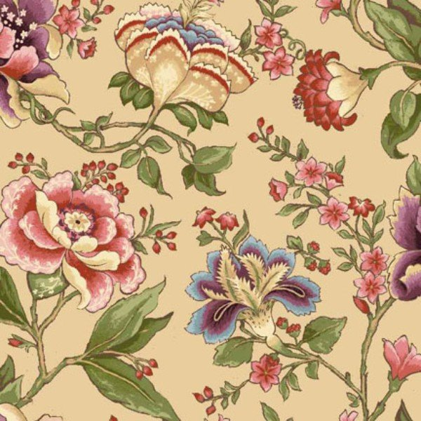 3.375 yards Abigail 22386 Tan by Red Rooster Fabrics